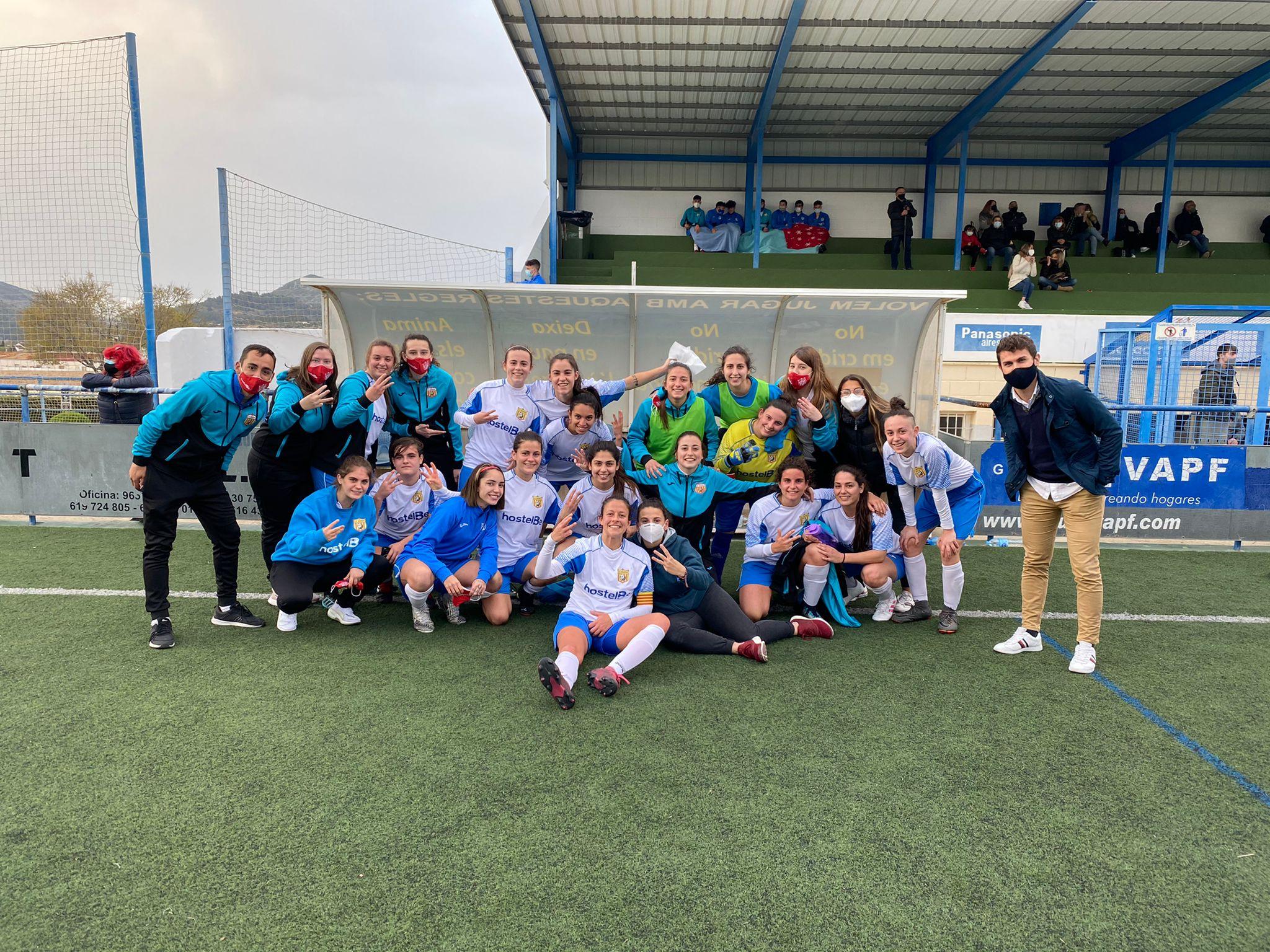 Equip Futbol Femení A de Benissa
